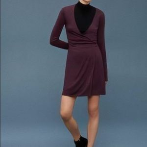 Wilfred Free Cardamom Chen Wrap Dress